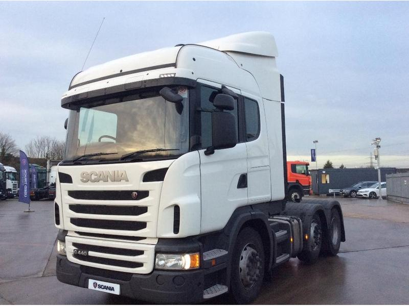 Scania G440 44 Tonne Truck For Sale   HGV Traders - Powered
