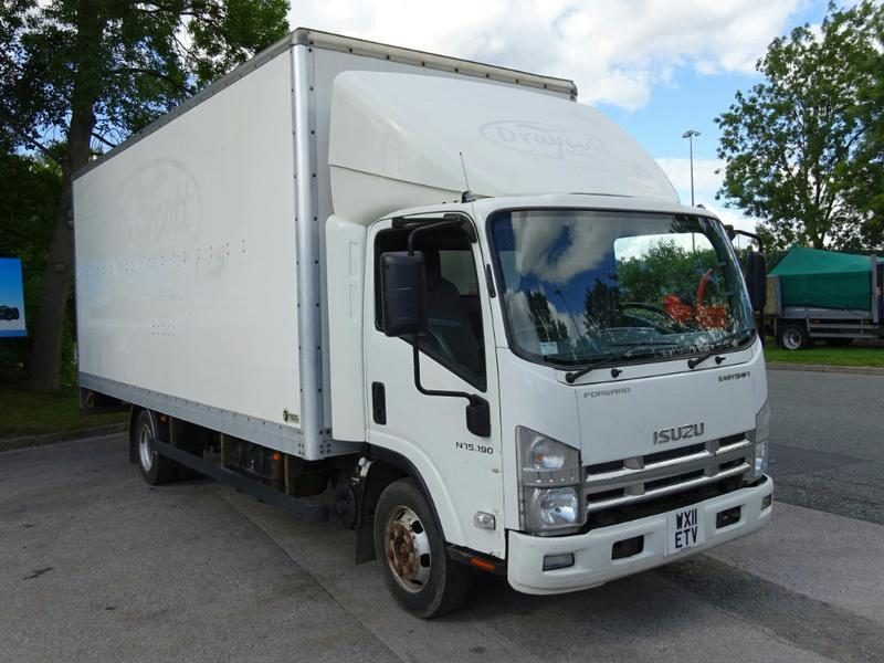 Isuzu N75 7 5 Tonne Box Truck For Sale Hgv Traders Powered By