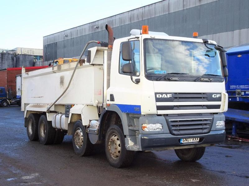 DAF CF 85 360 32 Tonne Tipper Truck For Sale   HGV Traders