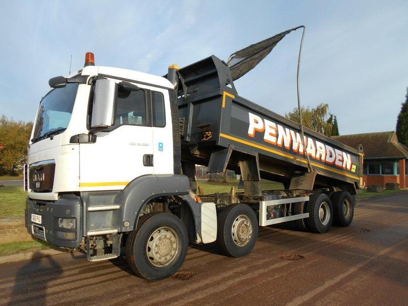15b575912a0541 MAN 32 Tonne Tipper Truck For Sale