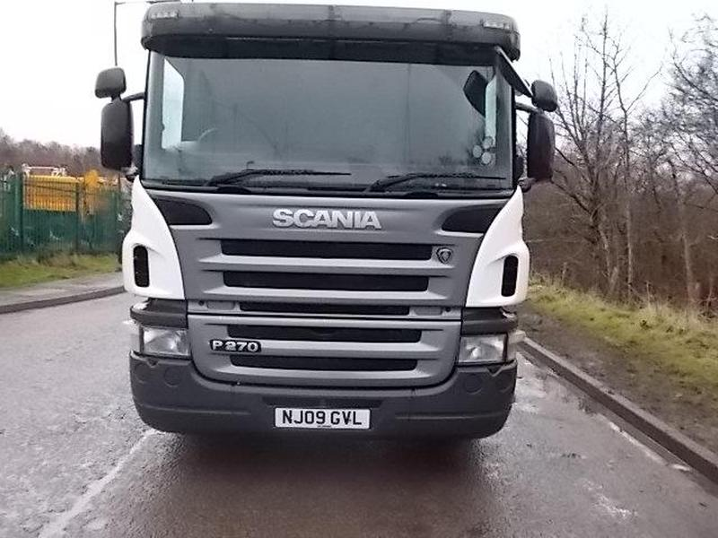 Scania 26 Tonne Chassis Cab Truck For Sale | HGV Traders