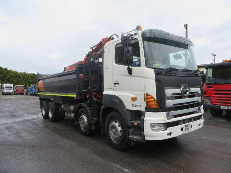 Hino 32 Tonne Tipper Truck For Sale Hgv Traders Powered By The Trade