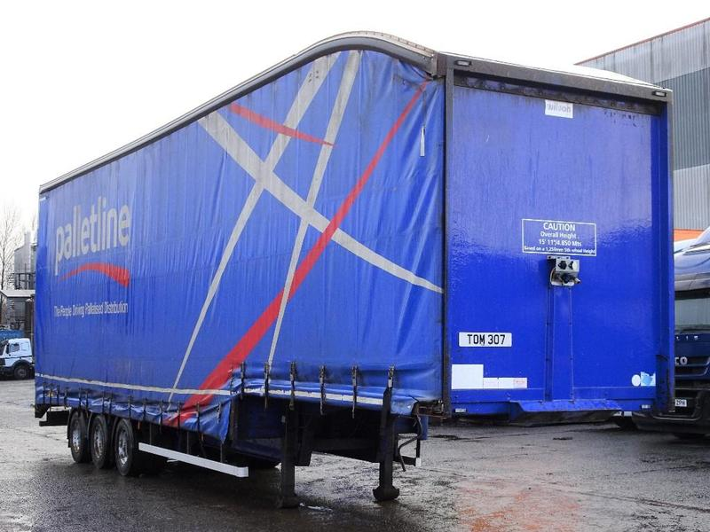 A M Commercials Ltds 44 Tonne Trailer Curtain Side For Sale On HGVTraders