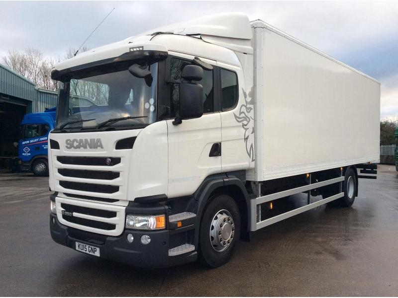 a49251e85225ef Scania North East s 18 Tonne Scania Box for sale on HGVTraders.com