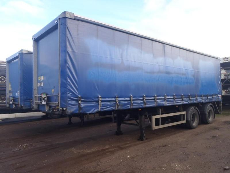 SDC Curtain Side Truck For Sale