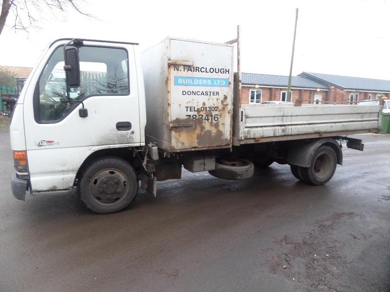 Isuzu Nkr Flatbed Truck For Sale Hgv Traders Powered