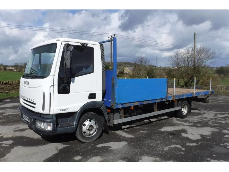 Iveco Eurocargo 7 5 Tonne Truck For Sale   HGV Traders - Powered by