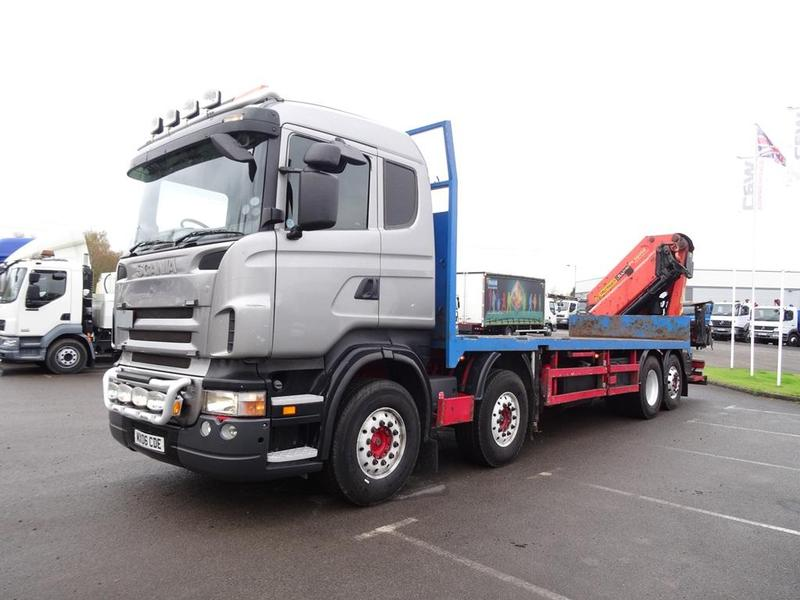 Scania 44 Tonne Truck For Sale Hgv Traders Powered By