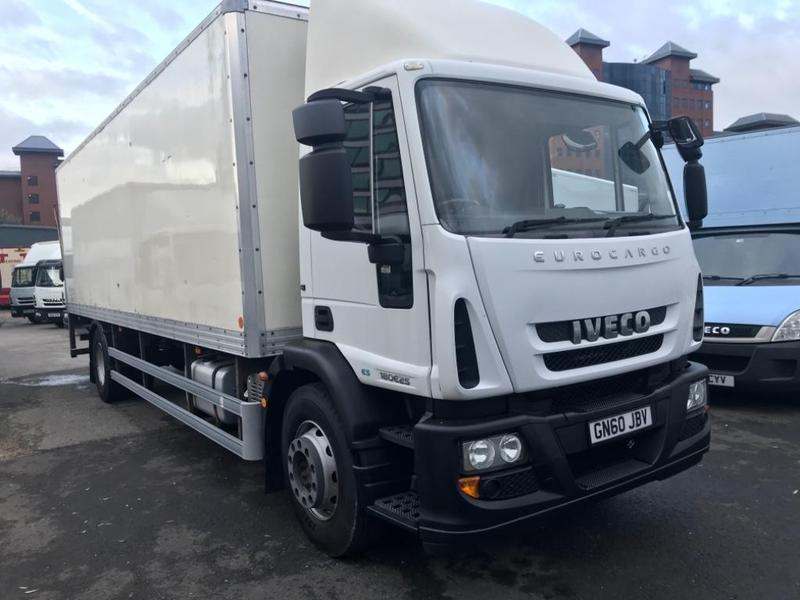 Iveco Eurocargo 18 Tonne Box Truck For Sale | HGV Traders
