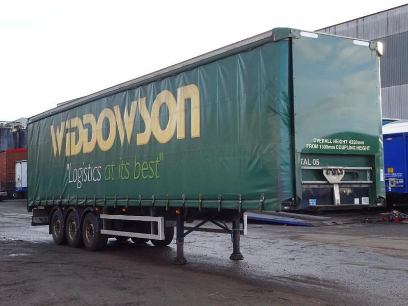 A M Commercials Ltds 75 Tonne Montracon Curtain Side For Sale On HGVTraders