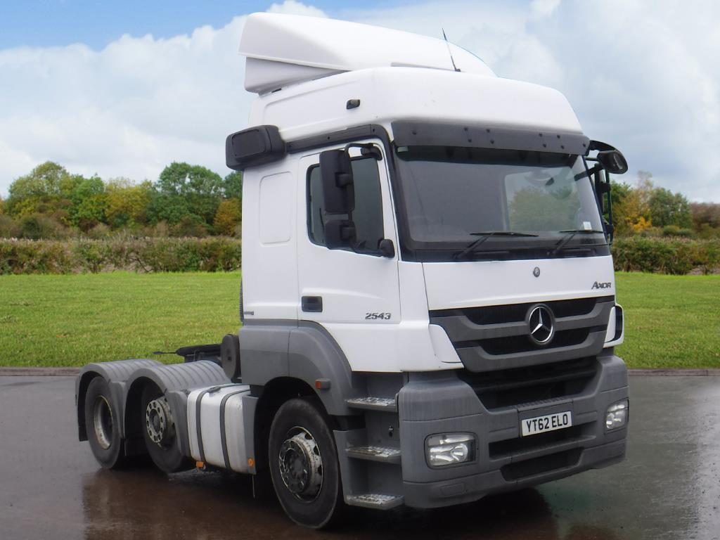Britcom International Ltd's Mercedes Benz 2543 Axor Tractor Unit for sale  on HGVTraders.com